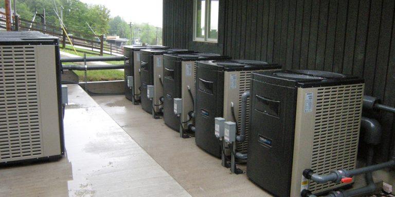 Ski Bromont Water Park - Installed Thermeau pool heat pumps