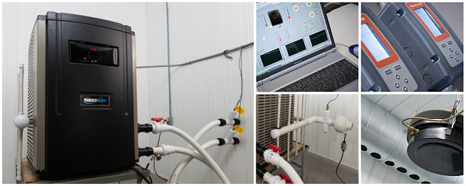 residential R&D thermeau lab 1 - Thermeau pool heat pumps