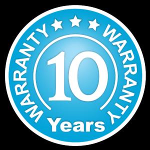 Warranty - 10 Years