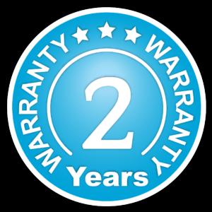 Warranty - 2 Years