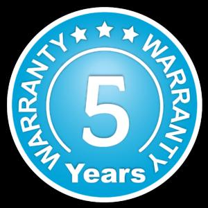 Warranty - 5 Years