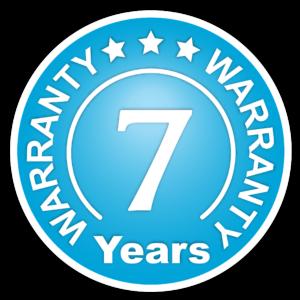Warranty - 7 Years